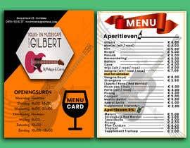 #53 für Design menu for local bar von nooreemaan02