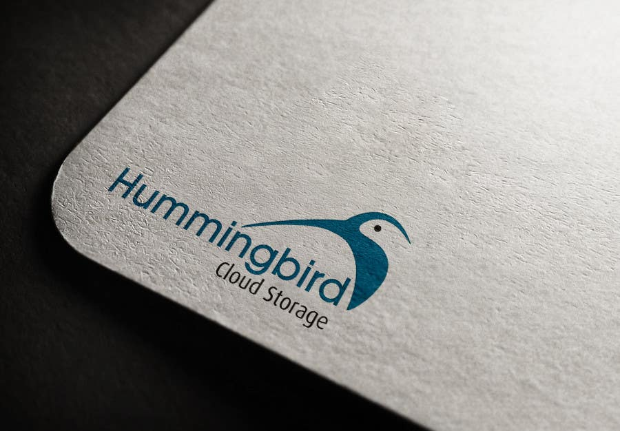 Konkurrenceindlæg #                                        44                                      for                                         Hummingbird Cloud Storage Logo