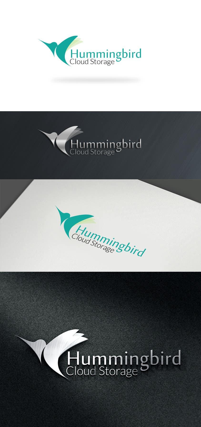 Bài tham dự cuộc thi #37 cho Hummingbird Cloud Storage Logo