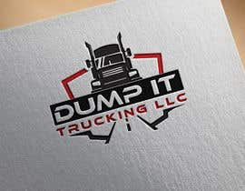 NeriDesign tarafından Logo Design for my Trucking Business ( Dump It Trucking LLC ) için no 234