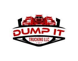 #923 untuk Logo Design for my Trucking Business ( Dump It Trucking LLC ) oleh sanudhar90