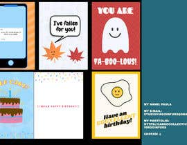 #84 for Greeting Card Designer by stayloose