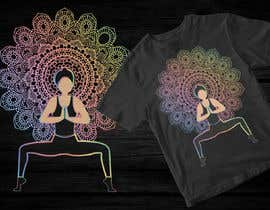 #78 for Goddess Yoga Pose T-shirt by mohonamm13
