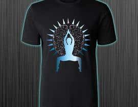 #74 for Goddess Yoga Pose T-shirt by azmiridesign