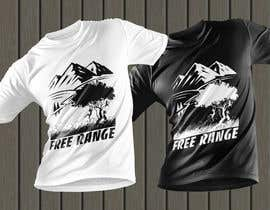 #26 for Free Range T-Shirt by creativefaysal11