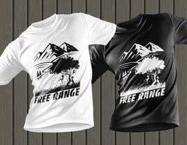 #26 для Free Range T-Shirt от creativefaysal11