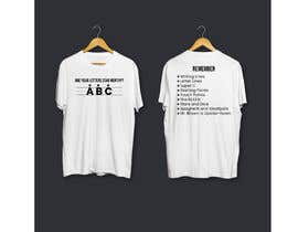#22 for Create a tee shirt design by RsdTanvir