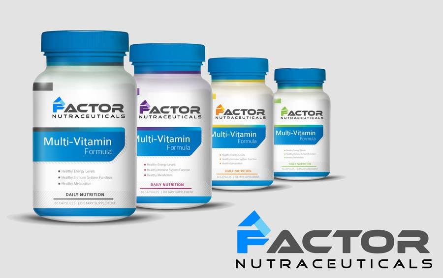 Konkurrenceindlæg #160 for Design a Logo/Branding for a Vitamin Company