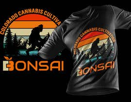 #555 untuk T-shirt Design for Colorado Cannabis Cultivation Company oleh ABSiddikur