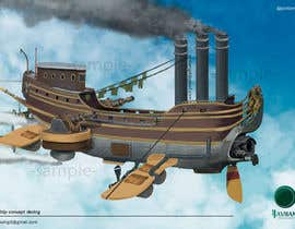 #23 for Airship Design by Javiian16