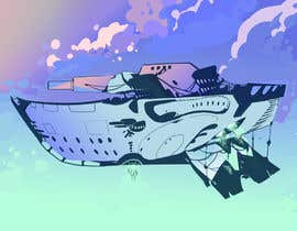 #11 for Airship Design by KinaTower