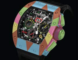 #4 para POP ART Colourful Detailed Watch Needed por pranj007