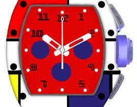 #10 para POP ART Colourful Detailed Watch Needed por Millia91