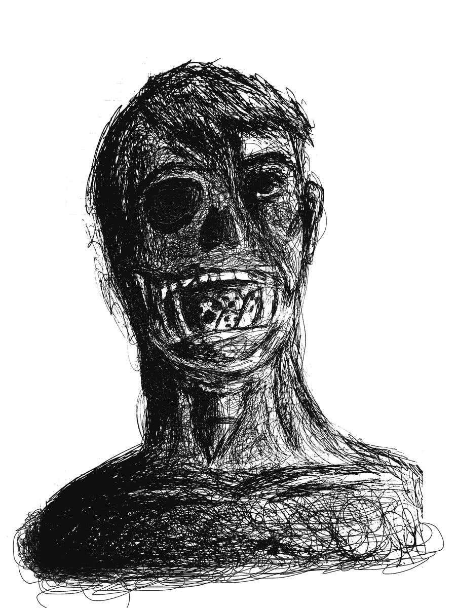 Kilpailutyö #                                        12                                      kilpailussa                                         Scribbled dark art