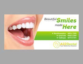 #9 para Design a Banner for A2ZDental por maximkotut