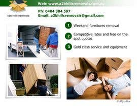 nº 3 pour Design a Flyer for Furniture Removals Company par zaeimah