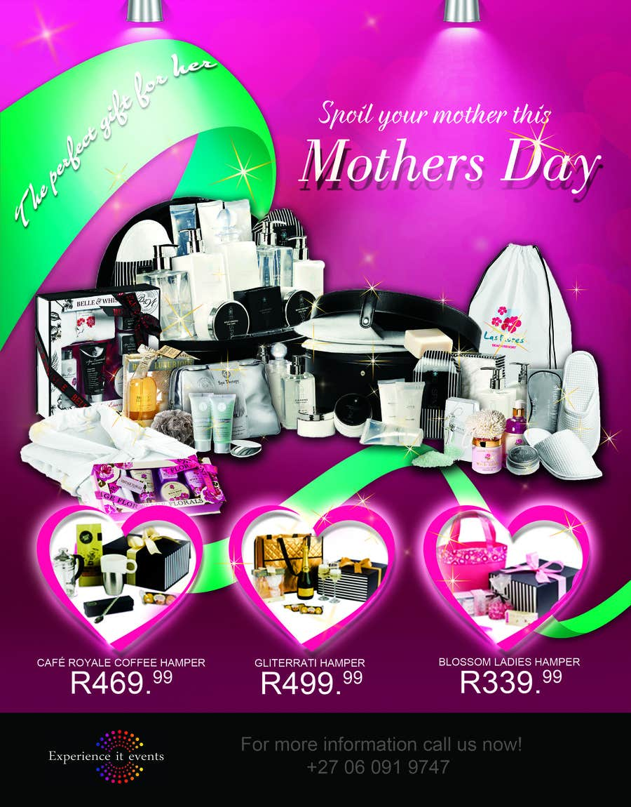 Contest Entry #8 for Design a Flyer for mother's day