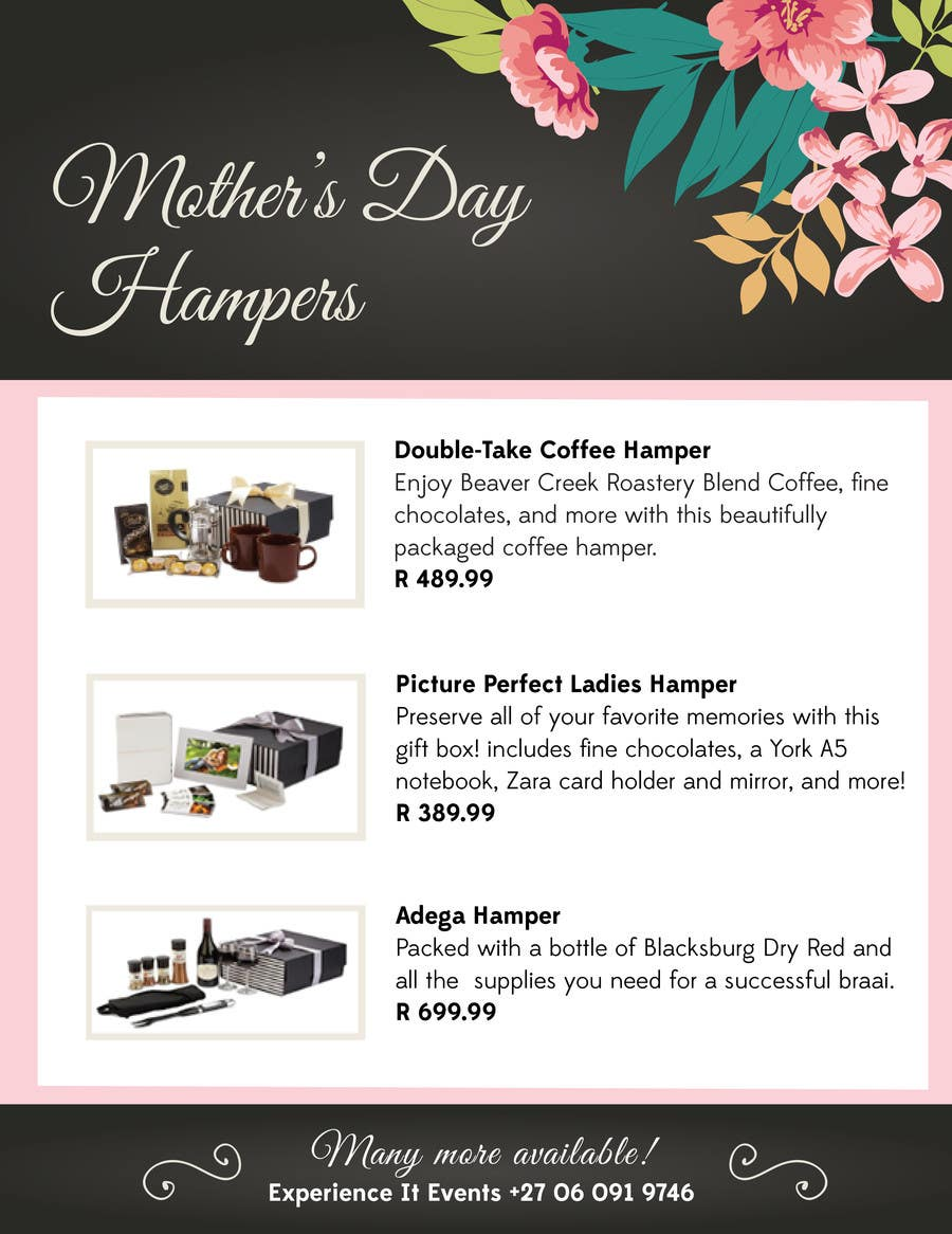 Contest Entry #12 for Design a Flyer for mother's day