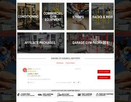 #5 for Web Design for AmericanBarbell.com by webidea12