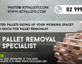"#27 for Design a Flyer for ""Jet Pallets"" af letoleto"