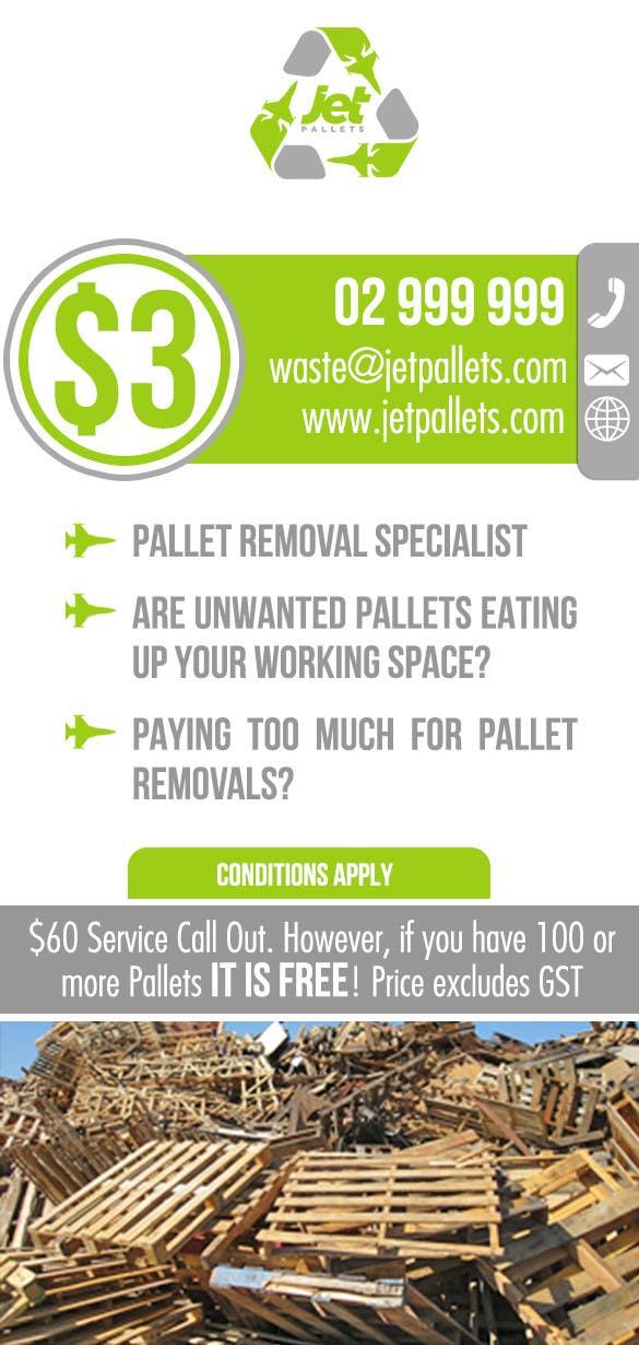 "Contest Entry #                                        29                                      for                                         Design a Flyer for ""Jet Pallets"""