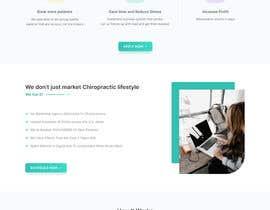 Nro 30 kilpailuun New beautiful home page (modern/clean) for marketing agency käyttäjältä sayemm123