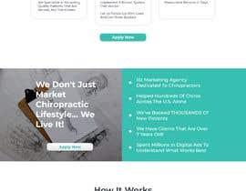 Nro 29 kilpailuun New beautiful home page (modern/clean) for marketing agency käyttäjältä daniasyrofi