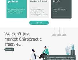 Nro 12 kilpailuun New beautiful home page (modern/clean) for marketing agency käyttäjältä rajaumeda123