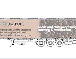 #12 para Projekt reklamy na naczepę Tira / Project of advertising on a truck trailer por adityadarji28