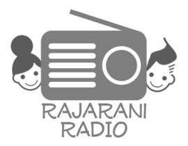 nº 10 pour RajaRani Radio logo par LiamHillier