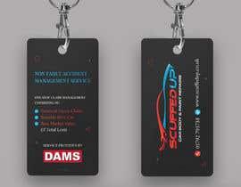 #210 for Design a Keyring Card for an Auto Body Shop af mamun313