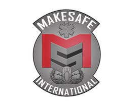 nº 25 pour MakeSafe International Non Profit Casualty Extraction and Explosive Ordnance Disposal service logo contest par fingerburns