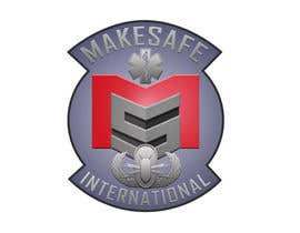 nº 38 pour MakeSafe International Non Profit Casualty Extraction and Explosive Ordnance Disposal service logo contest par fingerburns