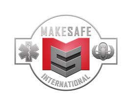 nº 41 pour MakeSafe International Non Profit Casualty Extraction and Explosive Ordnance Disposal service logo contest par fingerburns