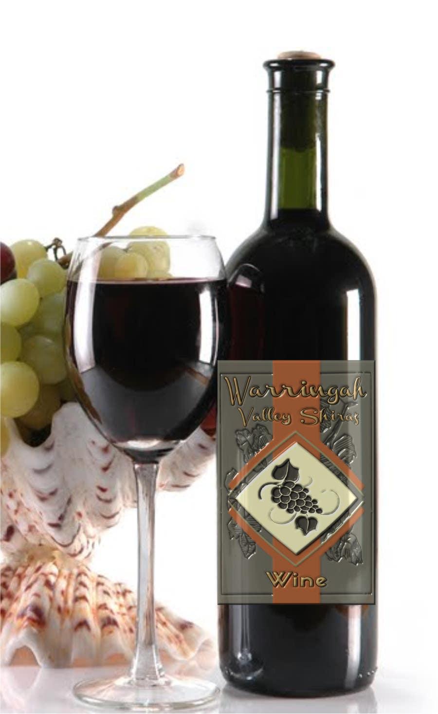 Bài tham dự cuộc thi #48 cho Design a Logo for Wine Label