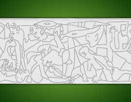 #3 pentru Spin on Picasso's Guernica de către emonmollik092
