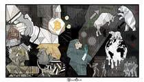 """Photoshop Intrarea #11 pentru concursul """"Spin on Picasso's Guernica"""""""
