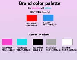#9 for Brand color palette by najmur01918