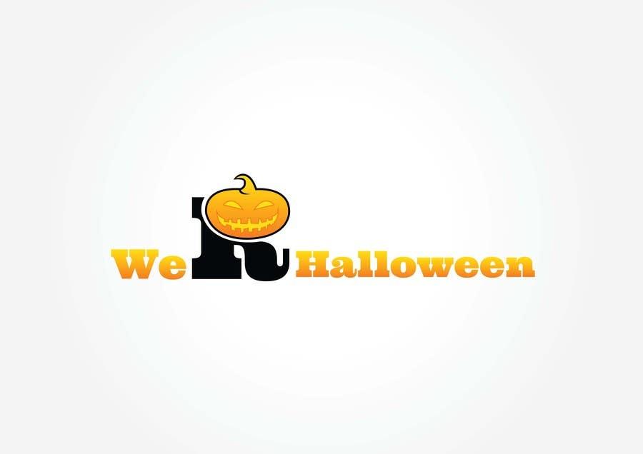 Penyertaan Peraduan #42 untuk design halloween logo