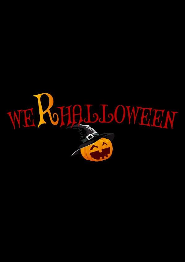 Penyertaan Peraduan #23 untuk design halloween logo