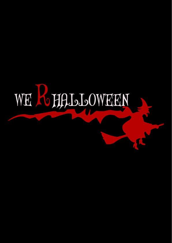 Penyertaan Peraduan #25 untuk design halloween logo