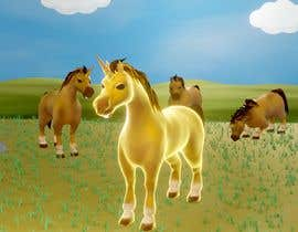 #77 para 3D models for Unicorn por wanilala