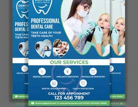 nº 82 pour diseño flyer clínica dental par joyantabanik8881