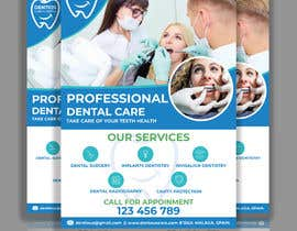 nº 83 pour diseño flyer clínica dental par joyantabanik8881