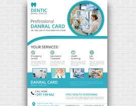 nº 21 pour diseño flyer clínica dental par asma4ft