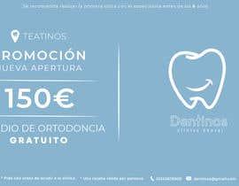 #32 for Tarjeta regalo de estudio de ortodoncia by TobiOros