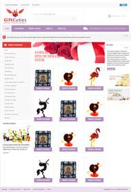 #10 untuk Website Design for Gifts and Souvenirs online store  PSD only oleh kreativeminds
