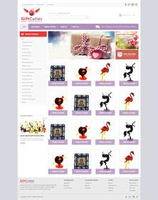 #18 untuk Website Design for Gifts and Souvenirs online store  PSD only oleh kreativeminds