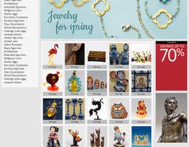 #8 untuk Website Design for Gifts and Souvenirs online store  PSD only oleh HasithaCJ