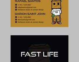 #6 untuk Fast life business cards oleh sameeriqbal414